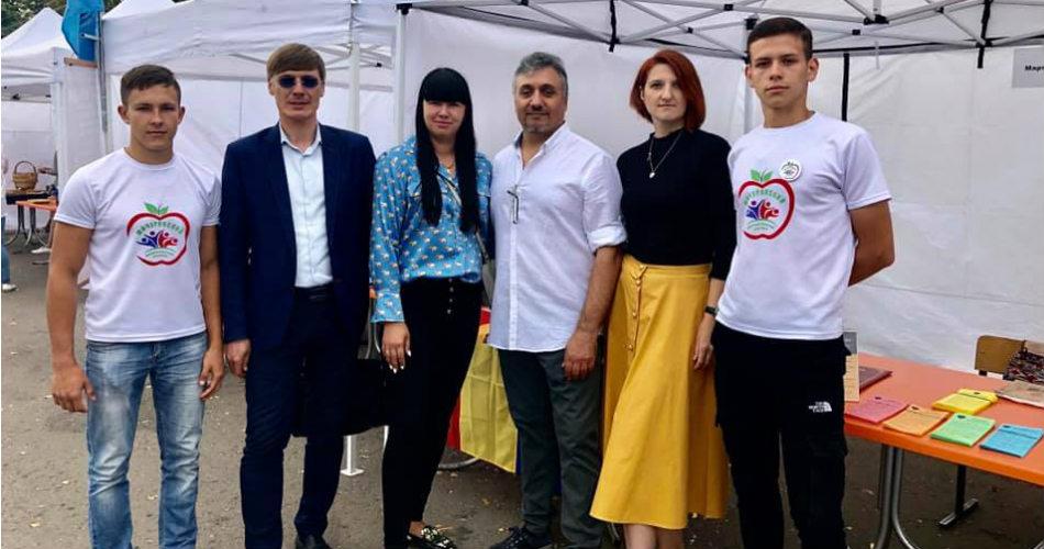 """Достояние Отечества"" приняло участи в праздновании дня города Мичуринска."