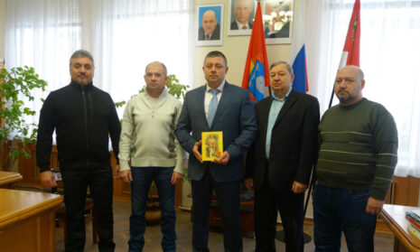 Главе города Мичуринска выручена книга Г.Я.Щербенёва.